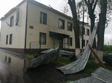 В Курской области ремонтируют пострадавшее от урагана жилье
