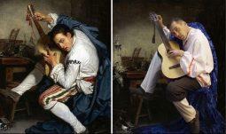 Курские артисты воспроизвели картины известных художников