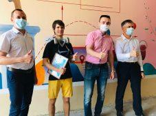 В День России в Курске появилось новое граффити