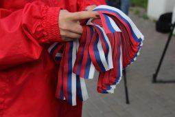 Курские волонтеры 12 июня раздадут ленточки-триколор