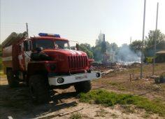 В Курской области устанoвился 3 класс пожарной опасности