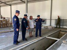 Новое пожарное депо построят в Понырях Курской области