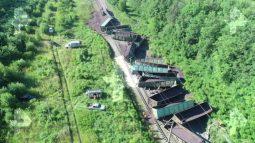 Поезд прибыл в Курск с опозданием из-за аварии на ж/д путях