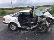 В Курской области в ДТП погиб человек, пятеро ранены