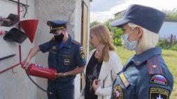 Курские садоводы стараются соблюдать пожарную безопасность