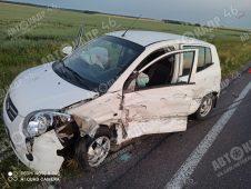 В Курске в ДТП с тремя машинами пострадал человек