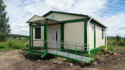 В селе Быки Курской области построили новый ФАП