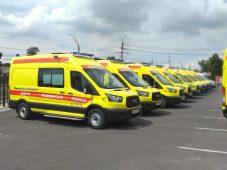Станция «скорой помощи» Курска получила 10 новых реанимобилей