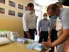 Роман Старовойт осмотрел детский лагерь «Олимпиец» в Железногорске