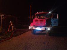 В полночь в Медвенке под Курском сгорел дом