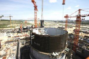 На энергоблоке №1 Курской АЭС-2 завершен монтаж третьего яруса внутренней защитной оболочки