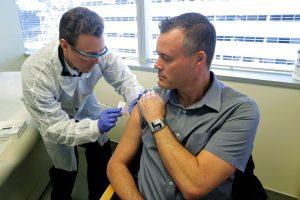 Готовность остается повышенной, вакцина на подходе