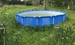 Полицейские задержали курянина, укравшего с дачи бассейн