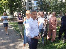 Мэр города осмотрел старинные подвалы в центре Курска