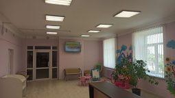 В Тимском районе отремонтировали детскую поликлинику