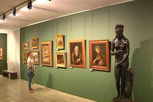 Выставка  в память  о художнике