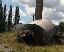 В Курском поселке восстановят упавшую водонапорную башню