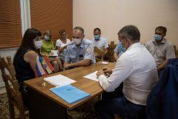 Глава Курска провел личный прием горожан