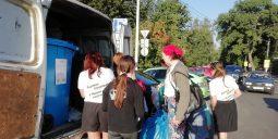 Курские экоактивисты собрали 182 килограмма вторсырья