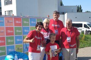 Юных курских спортсменов  наградили олимпийские чемпионы