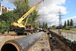 Завершается реконструкция тепломагистрали  на улицах Энергетиков – Серегина