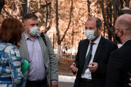 Вячеслав Берзин посетил ЮЗГУ с рабочим визитом