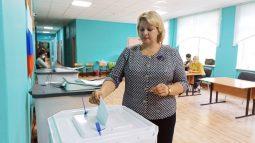 В Курской области начался второй день голосования