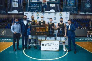 В Курске состоялся фестиваль баскетбола 3×3 среди мужских команд
