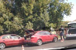 В Курске в ДТП пострадала трехлетняя девочка