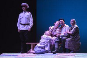 Состоялся пресс-показ спектакля «Саня, Ваня, с ними Римас»