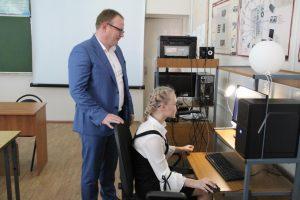 Металлоинвест оборудовал компьютерный класс  в железногорской школе