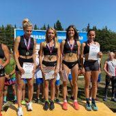Курские легкоатлетки стали чемпионками страны по эстафетному бегу
