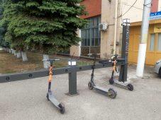 Жители Курска смогут взять электросамокаты напрокат