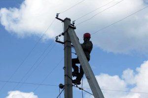 В Курске  убирают провода