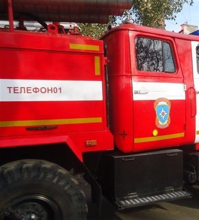 В Курске причиной пожара в квартире на Литовской мог стать поджог
