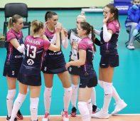 Курские волейболистки проиграли в стартовом матче национального первенства
