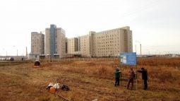 Возле курского онкодиспансера строят гостиничный комплекс