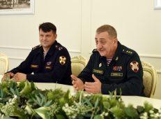 Роман Старовойт встретился с командующим Центральным округом войск Росгвардии