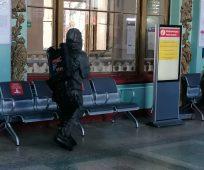 В Курске дополнительно продезинфицировали ЖД вокзал