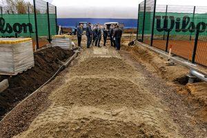 В Курске к середине ноября откроют Международную академию тенниса