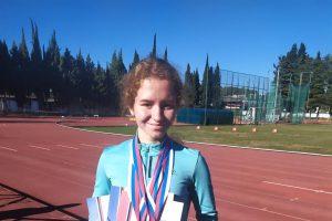 Курская спортсменка стала чемпионкой страны в беге на 200 метров