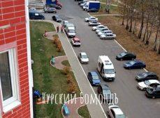 В Курске на Дериглазова девушка выпала с 12-го этажа