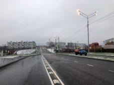 В Курске по новой дороге на Плевицкой открыли три маршрута