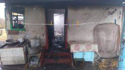 При пожаре в курской деревне погибла пенсионерка