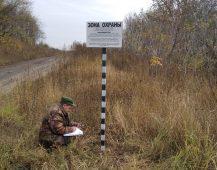 В Курской области устанавливают знаки «Зона охраны»