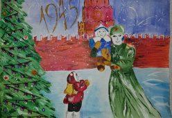 Рисунки юных курян представили на онлайн-выставке Музея Победы