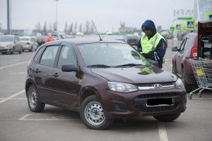 В Курске провели рейд по парковкам