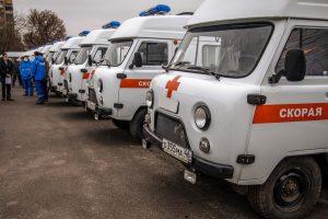 Медики получили  15 новых  автомобилей  cкорой помощи