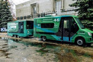 Мобильный «Кванториум»  отправился в Горшеченский район
