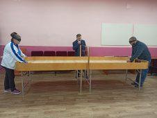 Курские незрячие спортсмены получили стол для шоудауна
